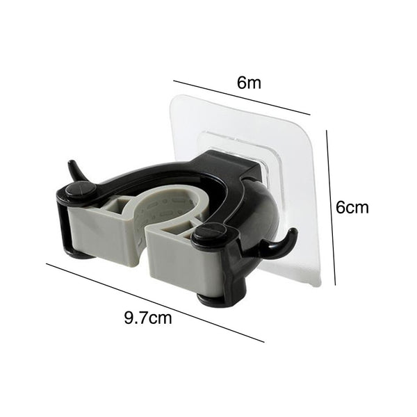 Wall Mounted Self-Adhesive Mop Holder
