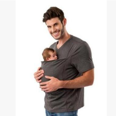 KANGAROO-BABY POCKET T-SHIRT