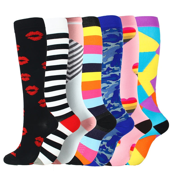 {Last Day Promotion 45% OFF!} Compression Socks (7 Pairs) for Women & Men