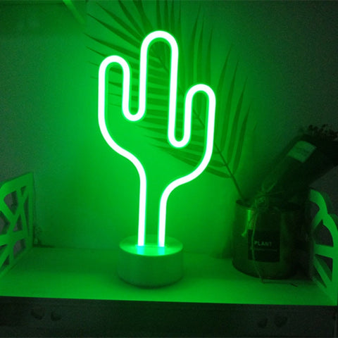 LED Neon Night Light for kids room