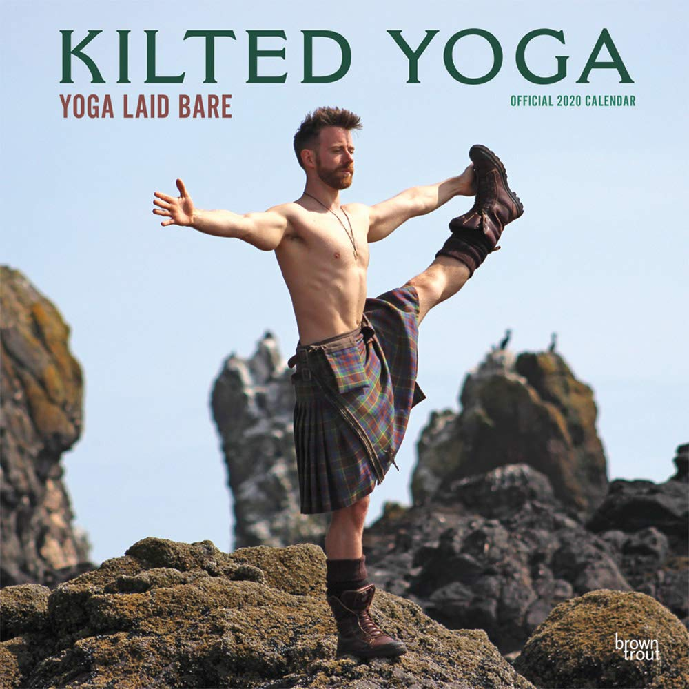 Kilted Yoga Calendar (signed)