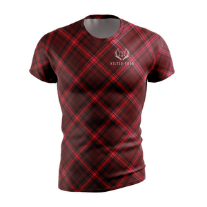 Kilted Yoga Compression T- Shirt