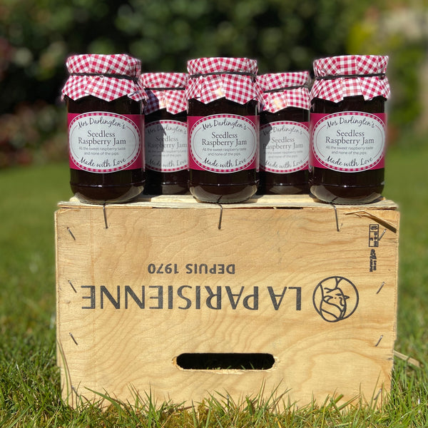 Mrs. Darlington's Seedless Raspberry Jam