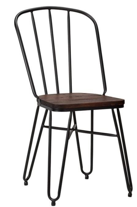 Tolix Hairpin French Bistro Industrial Side Chair - Tables&Tops