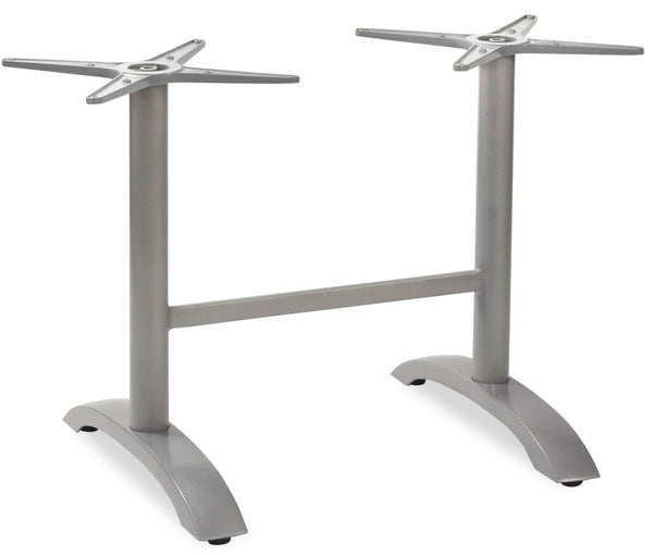 Marina Grey Flip Top Twin Aluminum Table Base