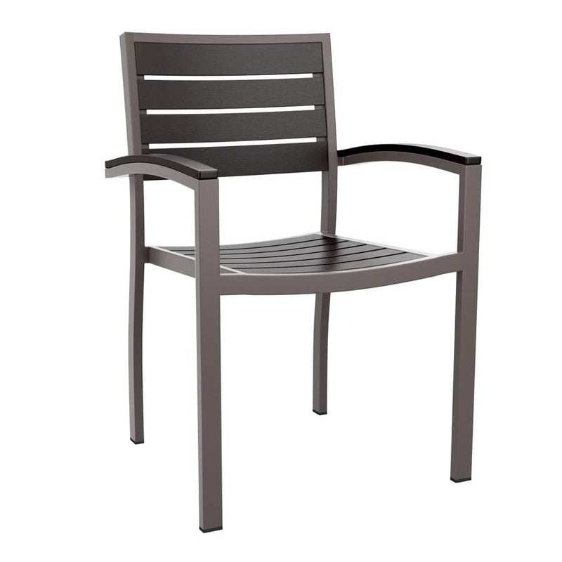 Likewood Stacking Outdoor Aluminium Armchair - Tables&Tops