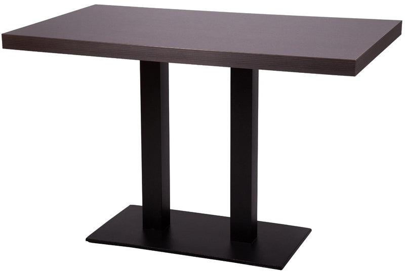 Forza Rectangle Twin Pedestal Cast Iron Table Base - Tables&Tops