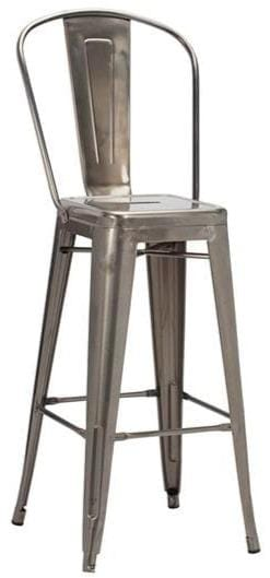 French Bistro Industrial High Bar Stool - Tables&Tops