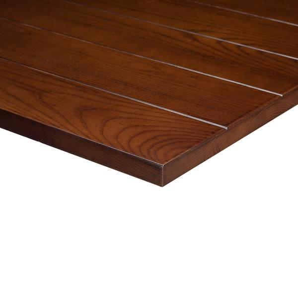 Slat Light Walnut Solid Wood 25mm Table Top - Tables&Tops