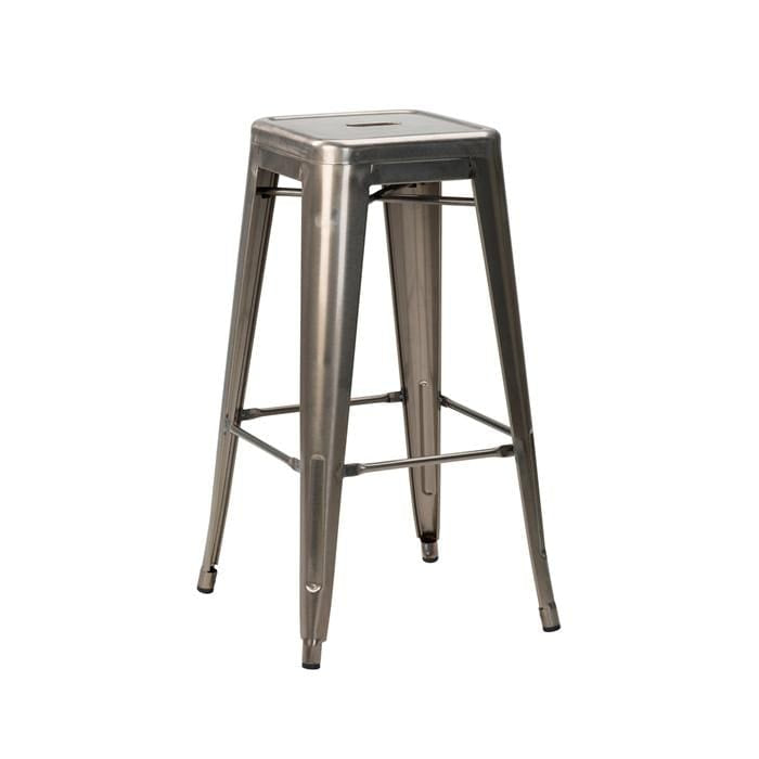 Tolix French Bistro Industrial High Stool - Tables&Tops