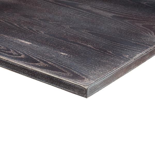 Lime Wash Wenge Solid Wood 25mm Table Top - Tables&Tops