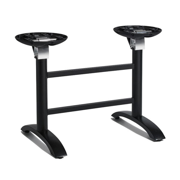 Space Flip Top Black Twin Aluminum Table Base - Tables&Tops
