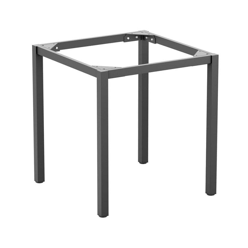 Paris Small Four Leg Grey Aluminium Table Base - Tables&Tops