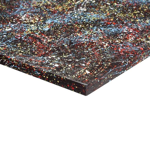 Jagged Painted Wenge Solid Wood 25mm Table Top - Tables&Tops