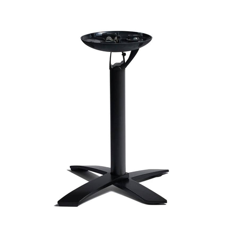 Space Flip Top Black Aluminum Table Base - Tables&Tops
