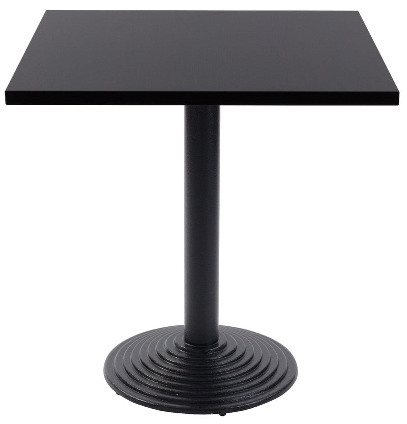 Ripple Round Black Cast Iron Table Base - Tables&Tops