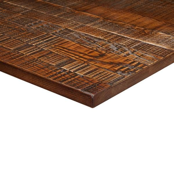 Jagged Light Walnut Solid Wood 25mm Table Top - Tables&Tops