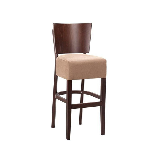 Atlo Vb Upholstered High Bar Stool - Tables&Tops
