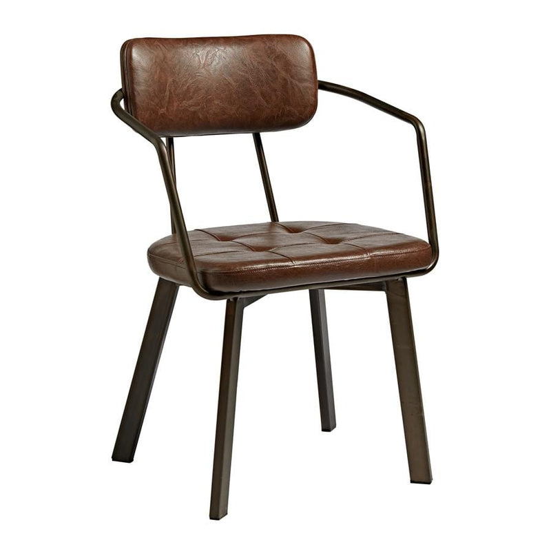 Auzet Bistro Industrial Side Chair - Tables&Tops