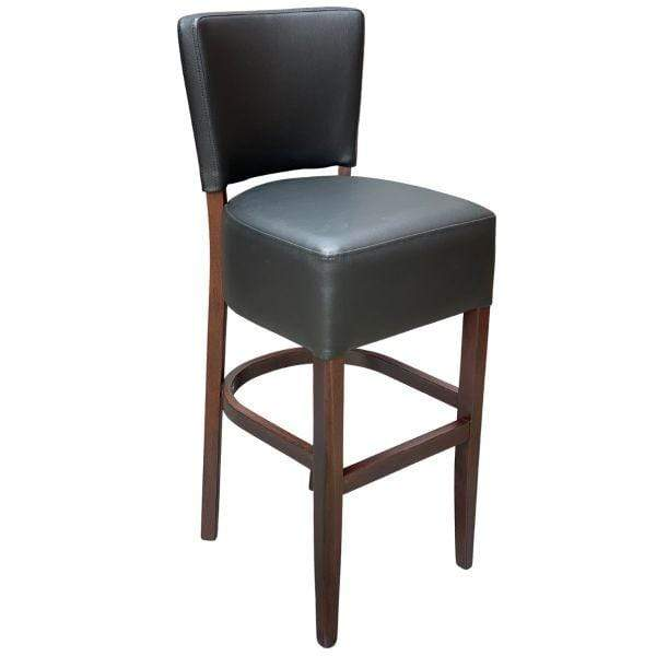 Venice Faux Leather Upholstered High Bar Stool - Tables&Tops