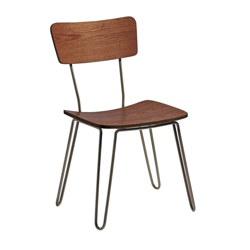 Clip Hairpin French Bistro Industrial Side Chair - Tables&Tops