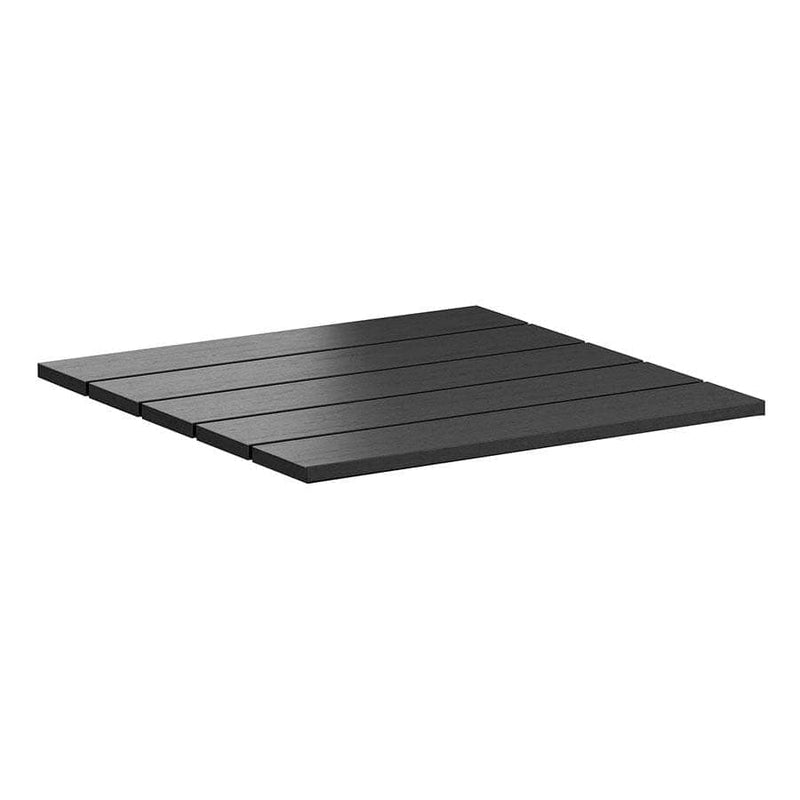 Echo Black Resin Outdoor Table Top - Tables&Tops