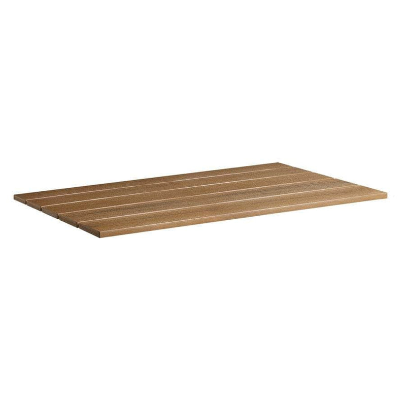 Echo Aged Gold Oak Resin Outdoor Table Top - Tables&Tops