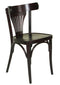 Fanback Traditional Wooden Side Chair - Tables&Tops