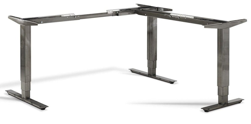 Forge Corner Height Adjustable Office Desk Table Base - Tables&Tops