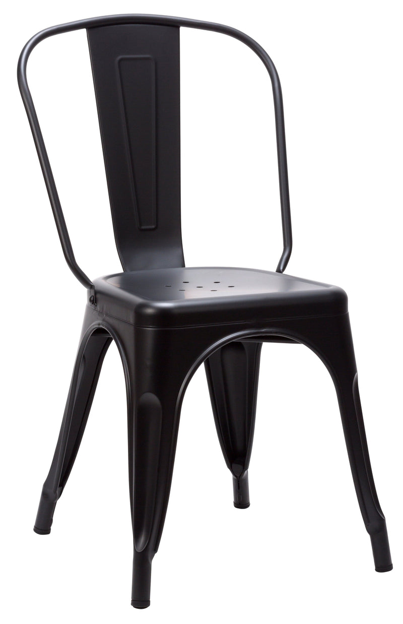 Tolix French Bistro Industrial Side Chair - Tables&Tops