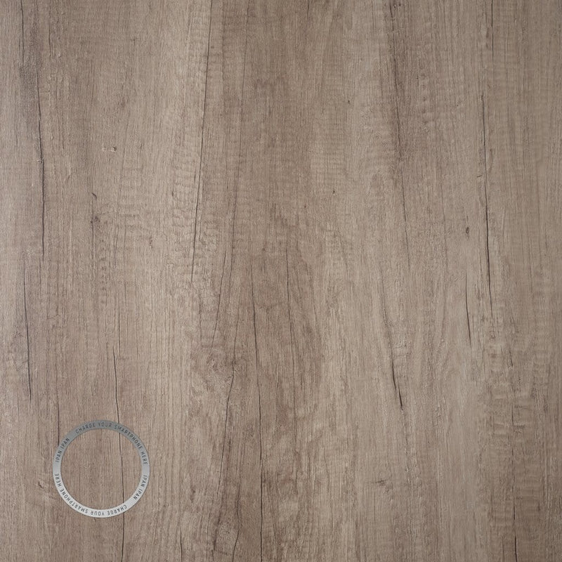 Grey Nebraska Oak Melamine 25mm Table Top - Tables&Tops