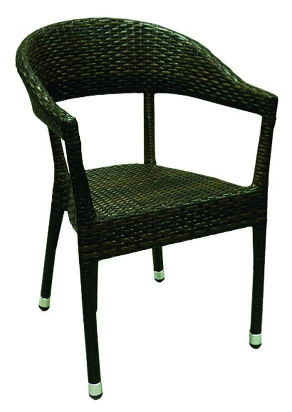 Isabelle Rattan Stacking Arm Chair - Tables&Tops