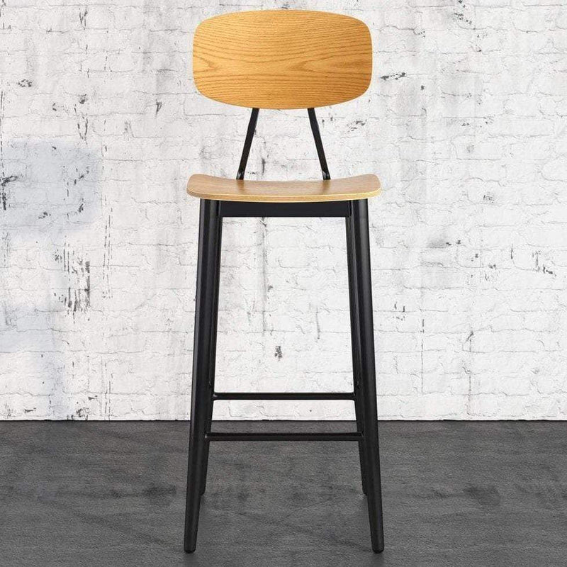 Juna Oak Bar Stool - Tables&Tops