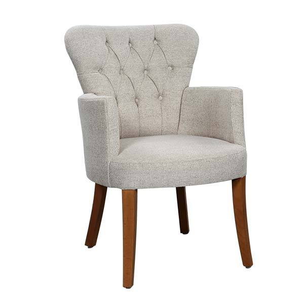 Pedro Upholstered Armchair - Tables&Tops