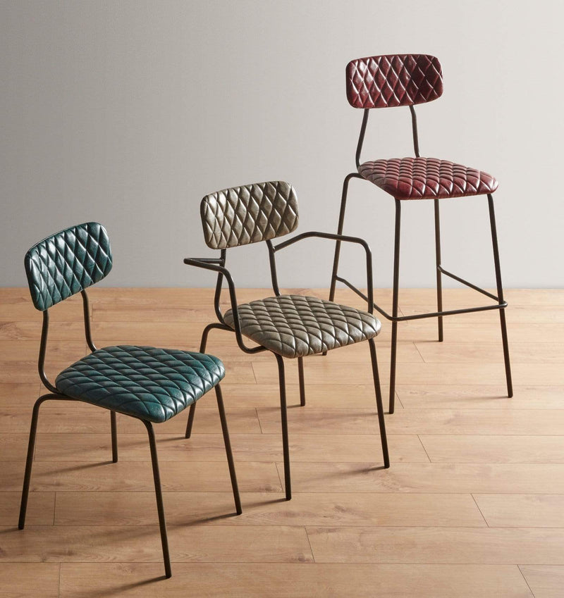 Kara Industrial Stacking Side Chair - Tables&Tops