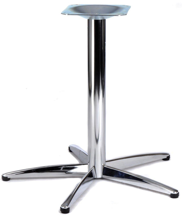 Lincoln Extra Large Chrome Steel Table Base - Tables&Tops