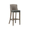 Merano Plain Upholstered High Bar Stool - Tables&Tops