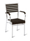 Monaco Outdoor Stacking Wooden Arm Chair