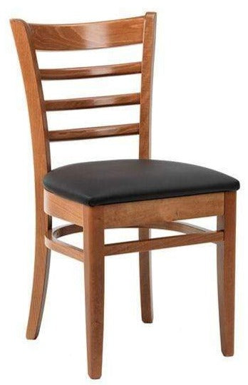 Nova Wooden Upholstered Side Chair - Tables&Tops