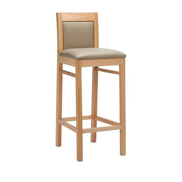 Ortona Upholstered High Bar Stool - Tables&Tops
