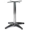 Venturi Polished Aluminium All-Weather Four Leg Table Base