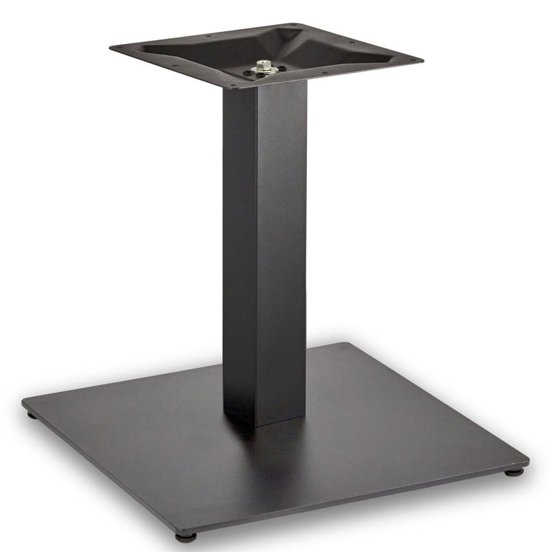 Profile Large Square Cast Iron Table Base - Tables&Tops