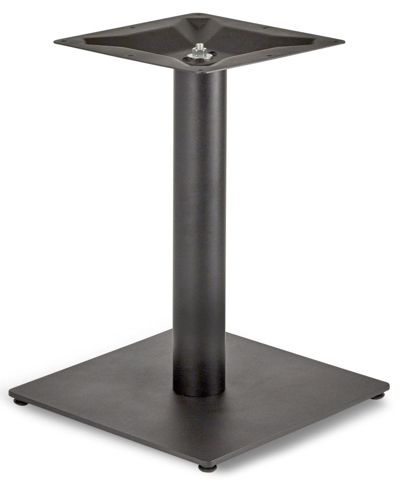 Profile Small Square Cast Iron Table Base - Tables&Tops