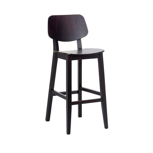 Rapallo Wooden High Bar Stool - Tables&Tops