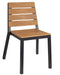 Riga Outdoor Stacking Wooden Arm Chair - Tables&Tops