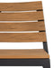 Riga Outdoor Stacking Wooden Arm Chair