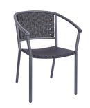 Seville Outdoor Stacking Rattan Arm Chair - Tables&Tops