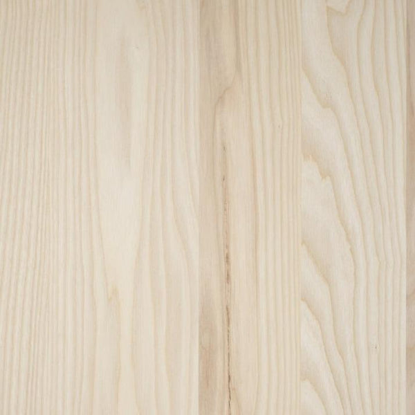 Fraxinus Raw Ash Wood Unfinished 25mm Table Top - Tables&Tops