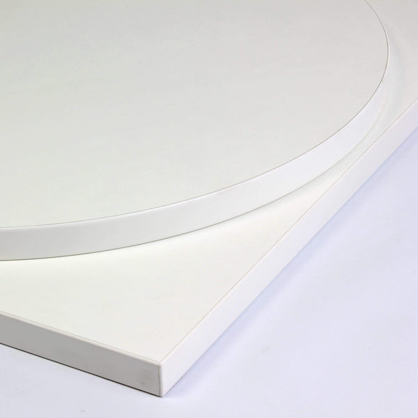 Albino White Laminate 25mm Table Top - Tables&Tops