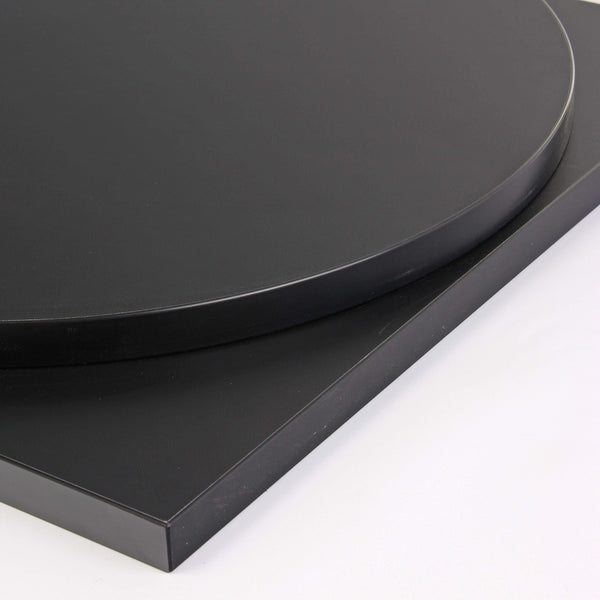 Onyx Black Laminate 25mm Table Top - Tables&Tops
